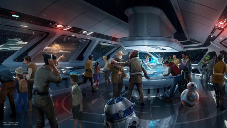 In 2019 Star Wars will be a theme park and then a hotel in Disney