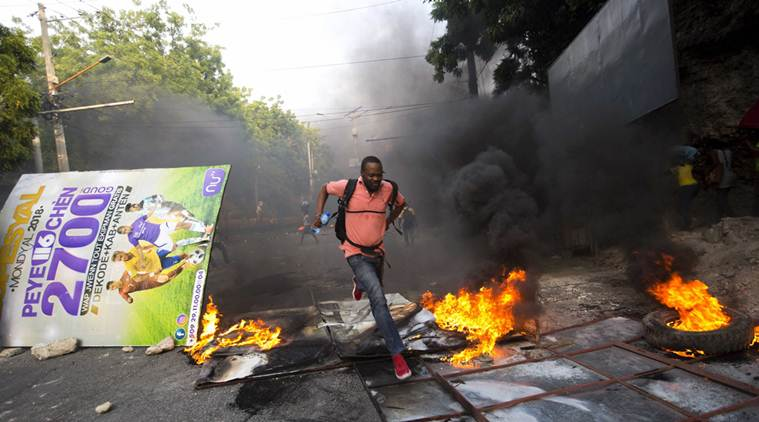 At least 42 people have died from protests in Haiti since mid-September