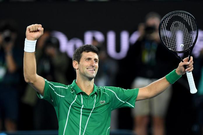 Djokovic finds no brake in Dubai and saves number one