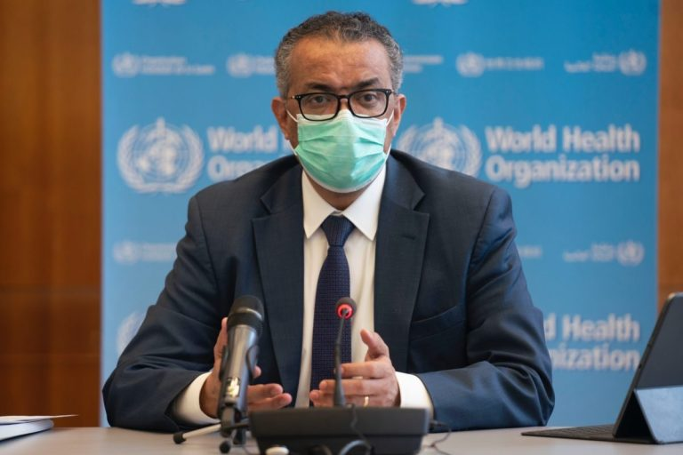 """WHO warns that the world suffers """"the highest infection rate during the pandemic"""""""