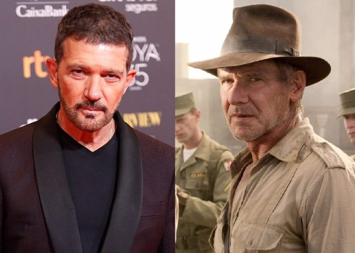 Antonio Banderas signs for Indiana Jones 5 and joins Harrison Ford