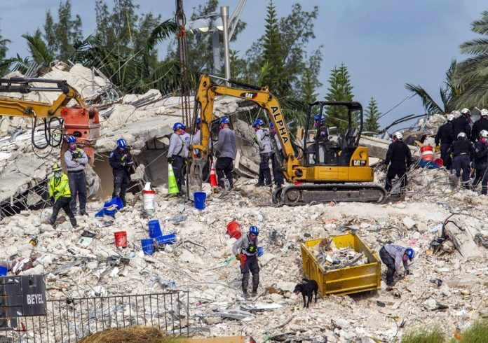 The bodies of two nieces of the first lady of Paraguay found in the collapsed building in Florida