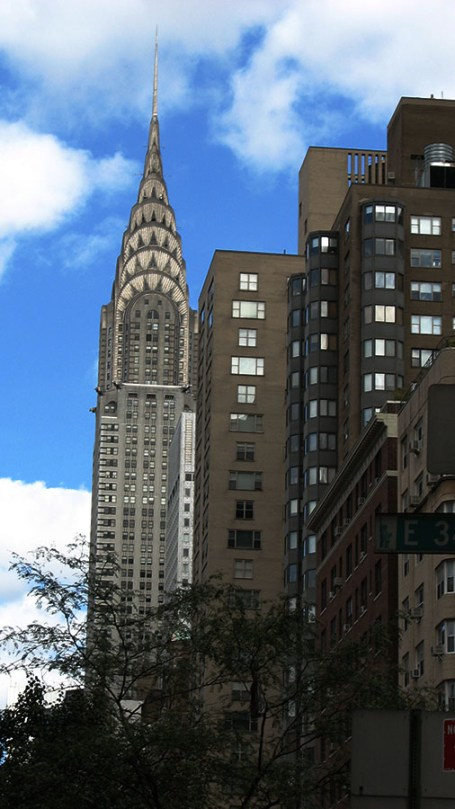 Photo: Sky Over Manhattan and a View of the Chrysler Building