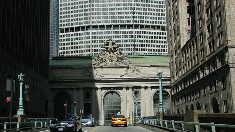Photo: Approaching Grand Central Station