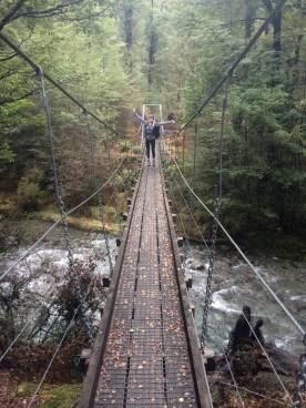 Just a your standard goofy bridge photo!