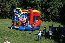 The bouncy house was a definite favorite!