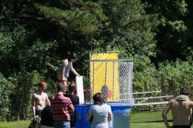 Everyone loves the dunk tank!