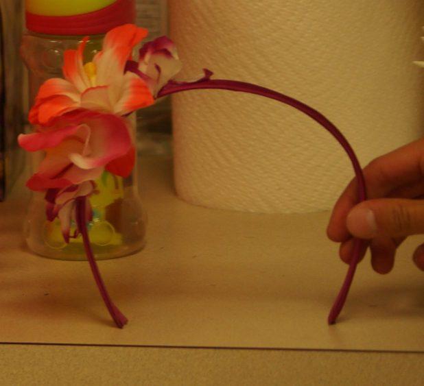 Headband w/ Flower
