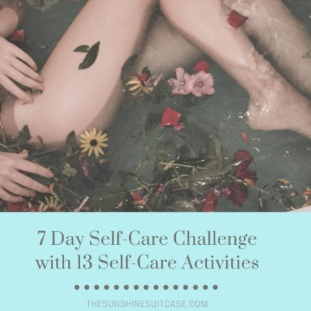 Self-Care Guide with Activities