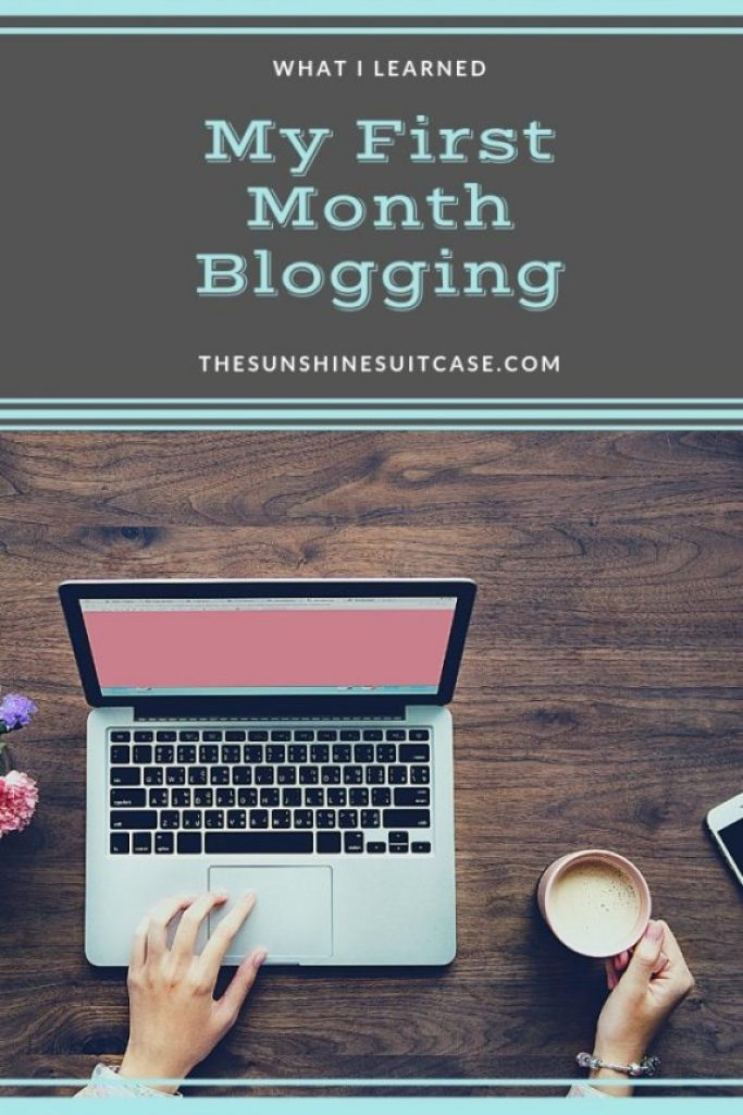 My First Month Blogging February 2019 Income Report First Month Blogging The Sunshine Suitcase