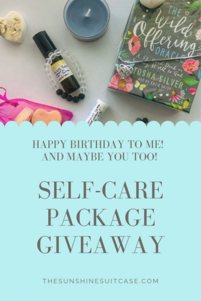 self care package giveaway