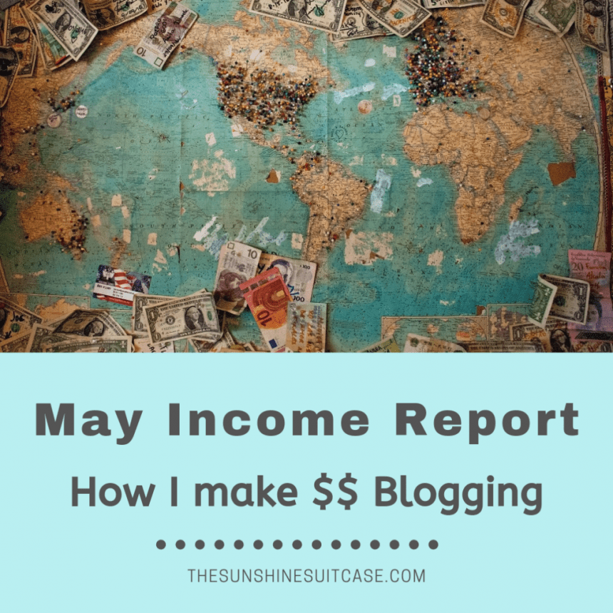 May Income Report and Blog Review
