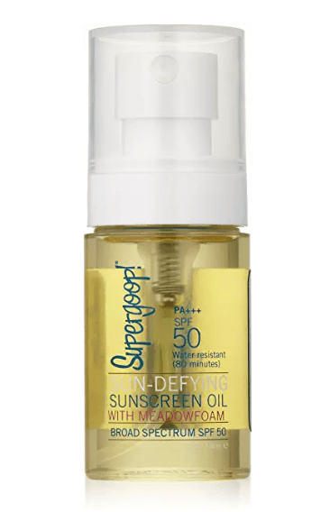 Supergoop! 50 SPF Sunscreen Oil  All Natural