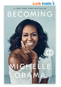 Becoming Michelle Obama Summer Reading list 2019