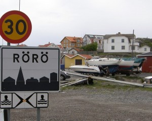 "Entering Rörö's ""urban"" centre"