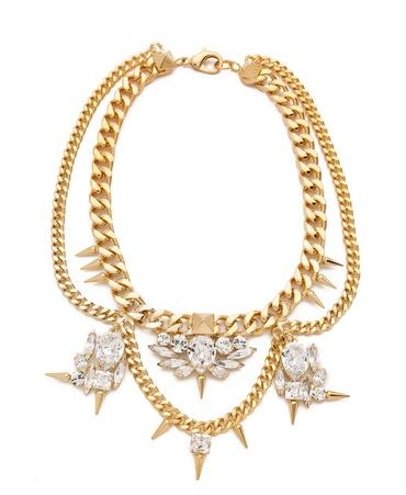 Fallon Crystal Necklace
