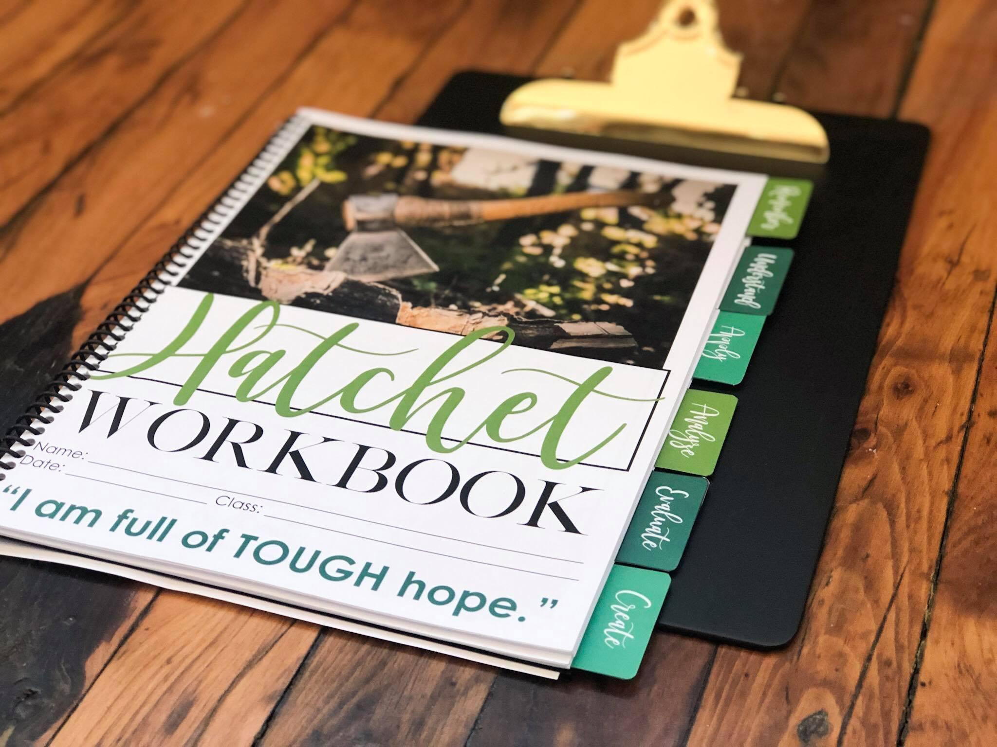 Teaching Hatchet By Gary Paulsen Using A Novel Workbook