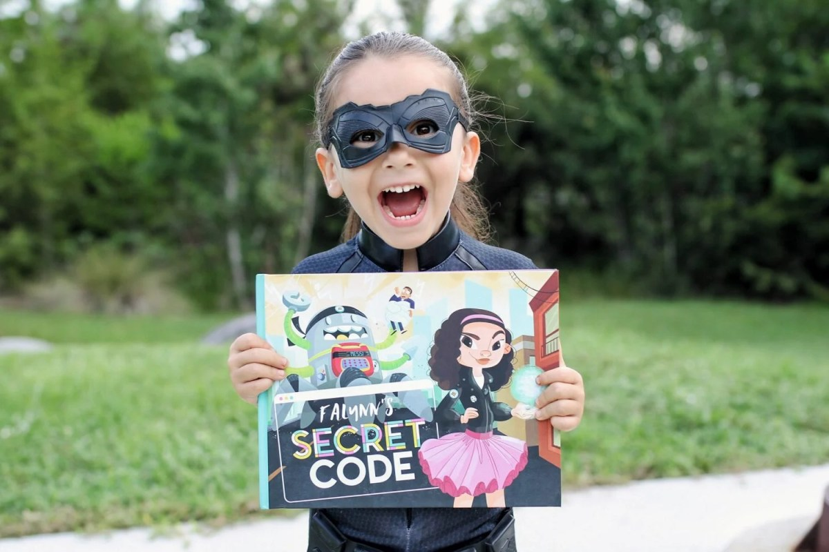 An Innovative Children's Book That Stars Your Girl as a Tech Hero