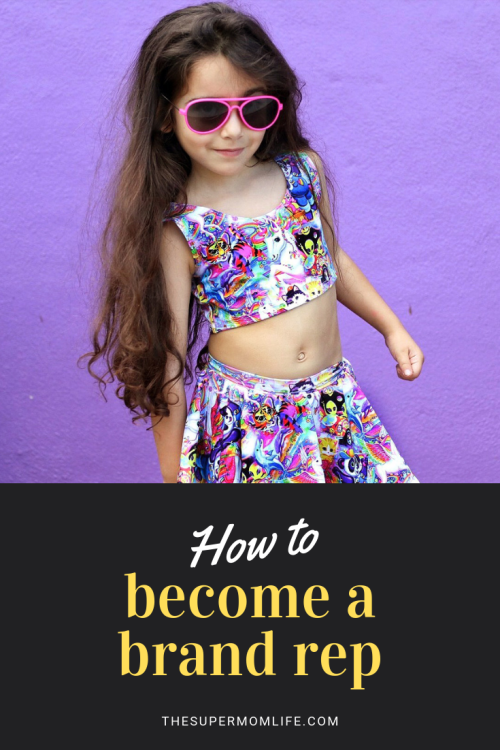 Want your child to be a brand rep? Here are the steps I took to get my daughters into brand repping, a way to represent small shops through your social media.