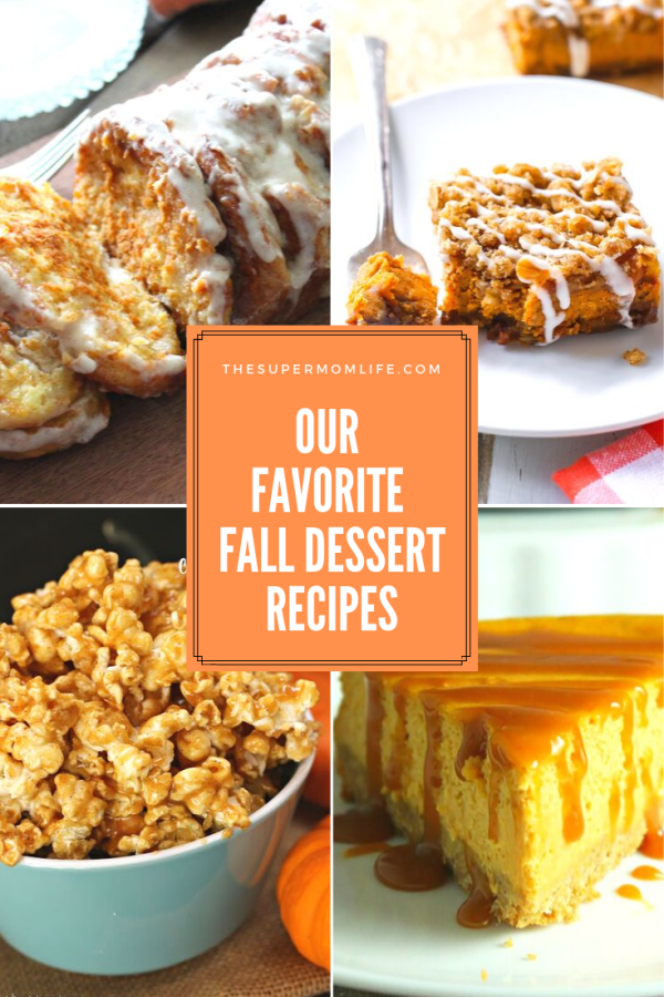 Pumpkin is this Super Mom's kryptonite. Especially when it comes to our favorite fall pumpkin desserts. Check out our favorite fall dessert recipes!