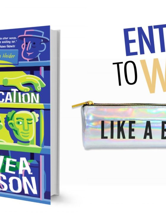 Enter to Win The Mortification of Fovea Munson + Like a Boss Pencil Case
