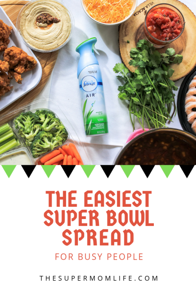 My tips for putting together a super bowl spread easily and quickly. Easiest Vegetarian Chili, vegetarian chili, chili recipe, recipe, Super Bowl recipes, best vegetarian chili recipes, 2019, mom blog, mom blogger, mommy blog, mommy blogger, family blog, parenting blog, the super mom life, thesupermomlife, parenting blogger, family blogger, food blogger