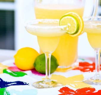 The Yummiest Non-Alcoholic Margarita Ever