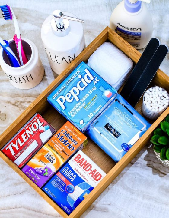 Organizing Your Bathroom Necessities PLUS a $10 Reward Offer