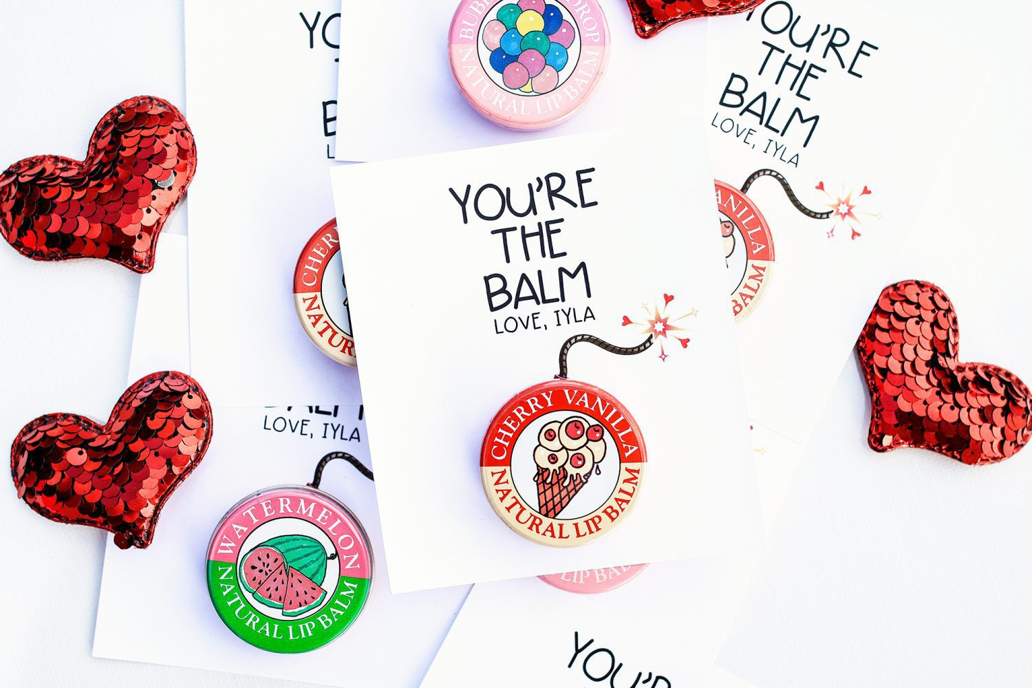 photo relating to You're the Balm Free Printable named Youre the Balm Valentine for Children Additionally No cost Printable - The