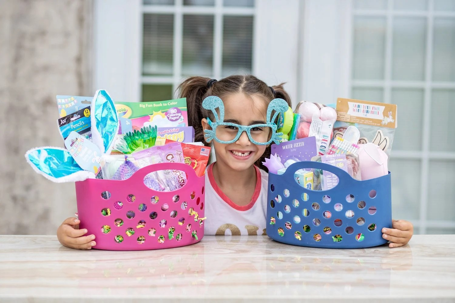 easter basket, budget, easter baskets on a budget, easter, easter baskets, target, kids, gift idea, diy, dollar store, target dollar spot, 2019, ideas for easter baskets, target dollar spot easter basket, gifts for kids, easter basket ideas, dollar tree easter basket