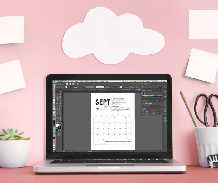 Free Printable Editorial Calendar for Bloggers – Third Quarter 2019