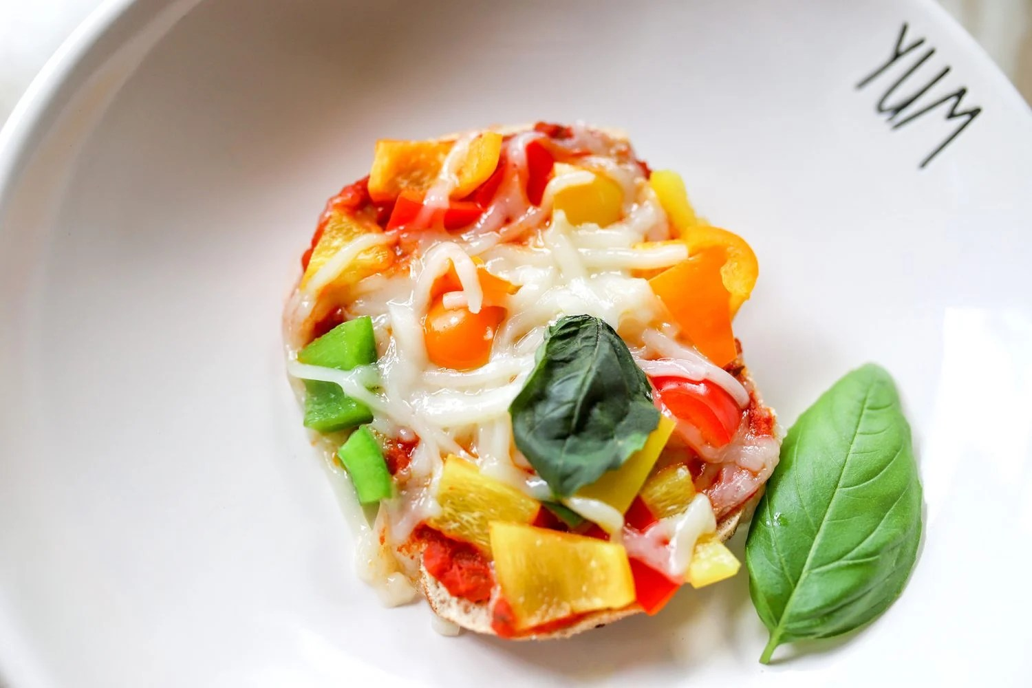 dairy free pepper pizza