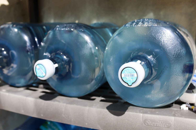 plenty of water