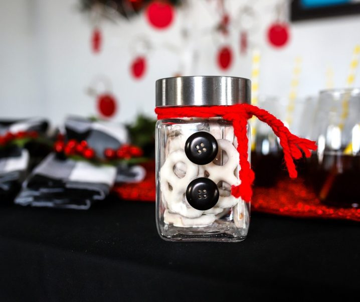 How to Make a Snowman Jar