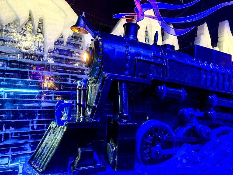 The Polar Express at ICE!