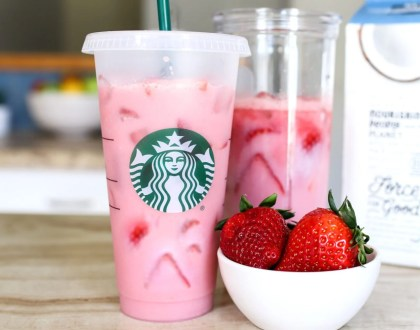 Starbucks Pink Drink Copycat Recipe