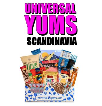 Universal Yums International Subscription Box – Scandinavia
