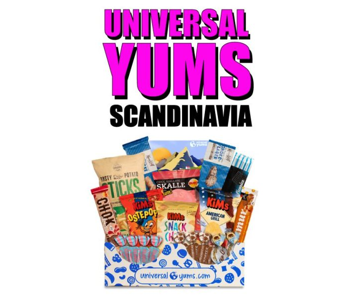 Universal Yums International Subscription Box – Scandinavia