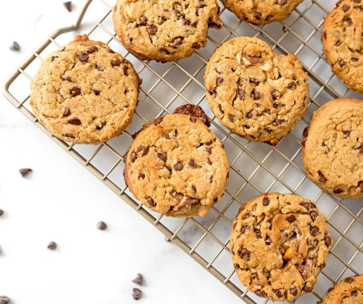 Peanut Butter Chocolate Chip SNICKERS® Cookies