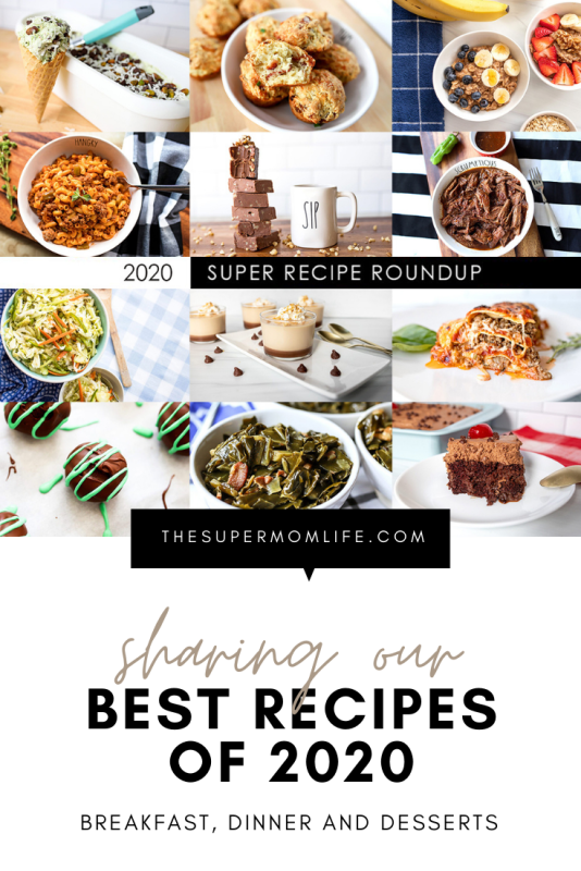 Check out our best recipes of 2020 in this special round up post.