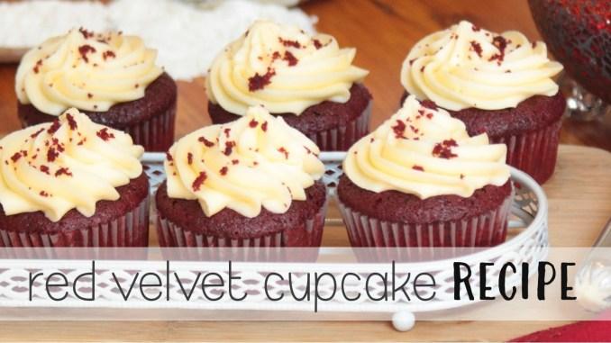 Super Moist Red Velvet Cupcake Recipe thesupermomsclub.com