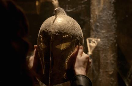 Doctor' Fate's helmet!