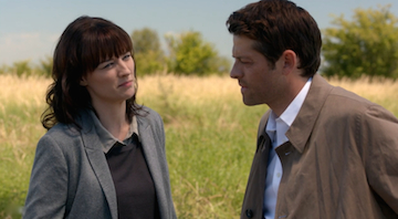 Castiel tells Hannah he will not take another angel's grace