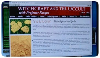 Sam's go to reference guide for all things witch-related