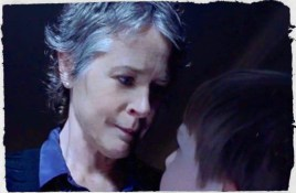 When Carol takes off her disguise is she a superhero or a supervillian?
