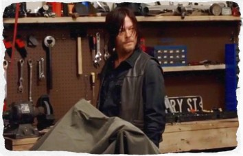 Daryl begins to feel at home