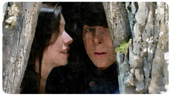 Enid and Carl, sitting in a tree...