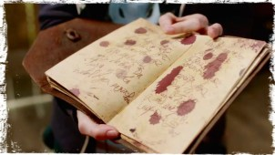 Book blood pages 2 Supernatural Book of the Damned