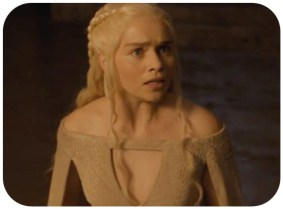 Daenarys finds her dragons in an unhappy state after she locked them away