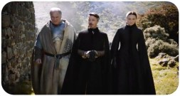Lord Royce tells Sansa and Petyr 'Littlefinger' that he will train Robin Arryn at Runestone